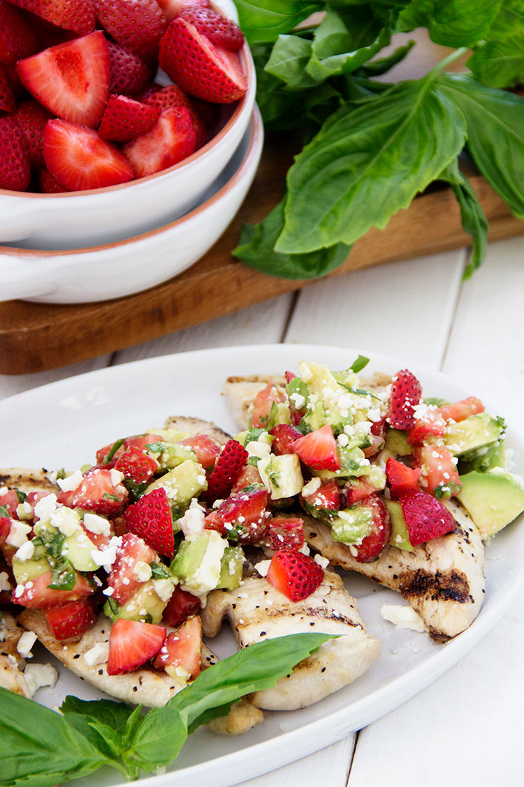Grilled-Chicken-with-Avocado-Strawberry-Salsa