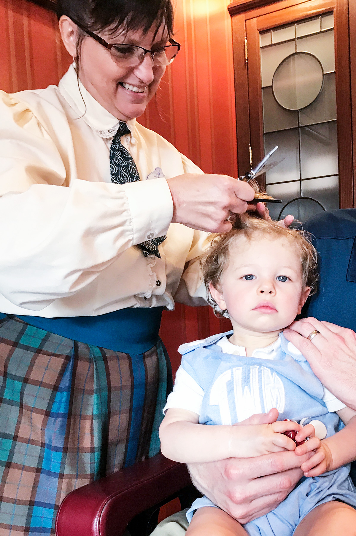 Trevors-First-Haircut-Harmony-Barber-Shop