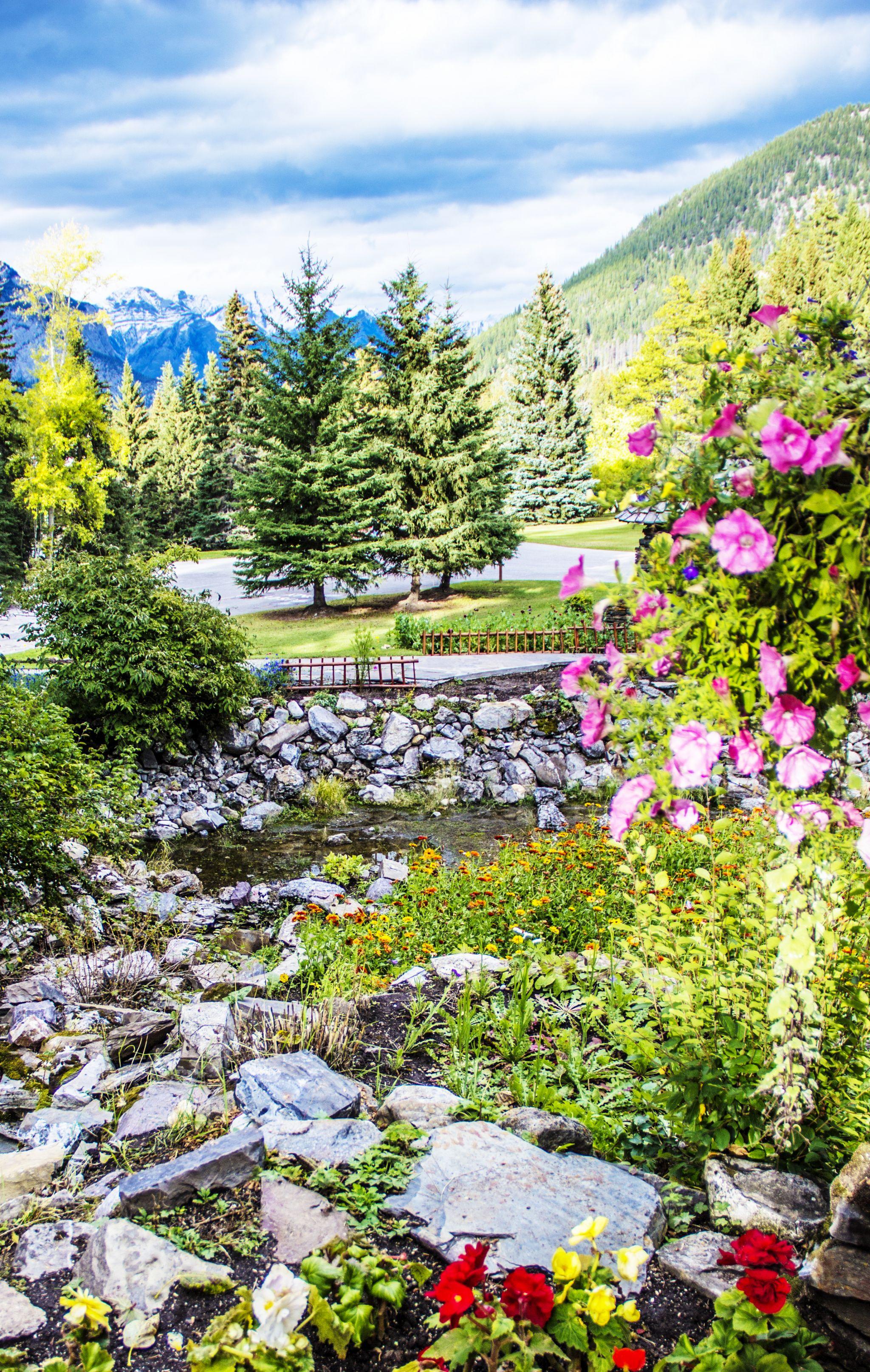 Banff-Cascade-Gardens