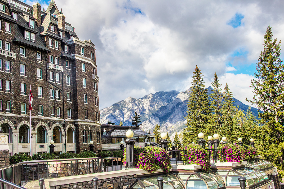 The-View-from-Banff-Springs-Fairmont