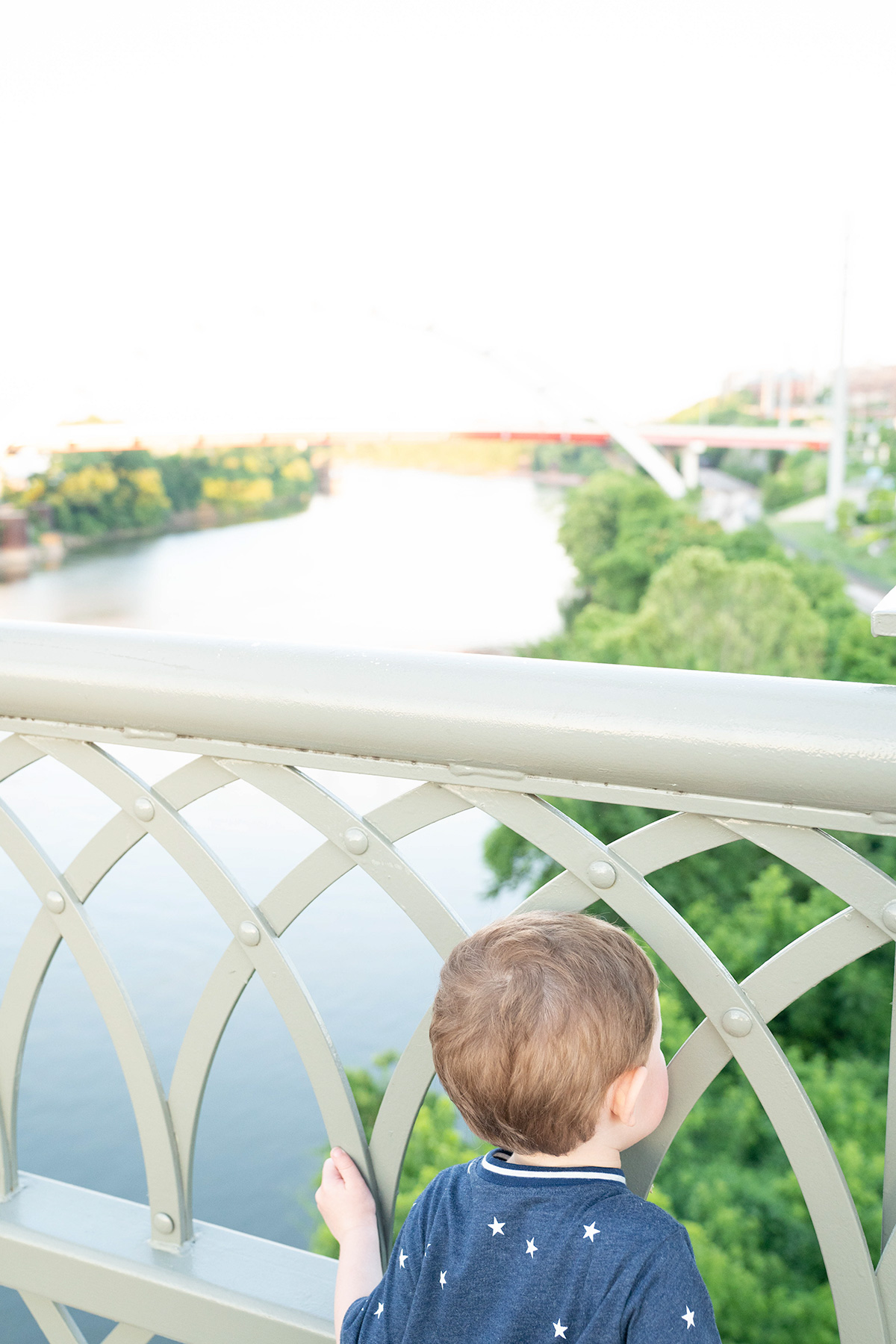 View-From-John-Seigenthaler-Pedestrian-Bridge-Nashville