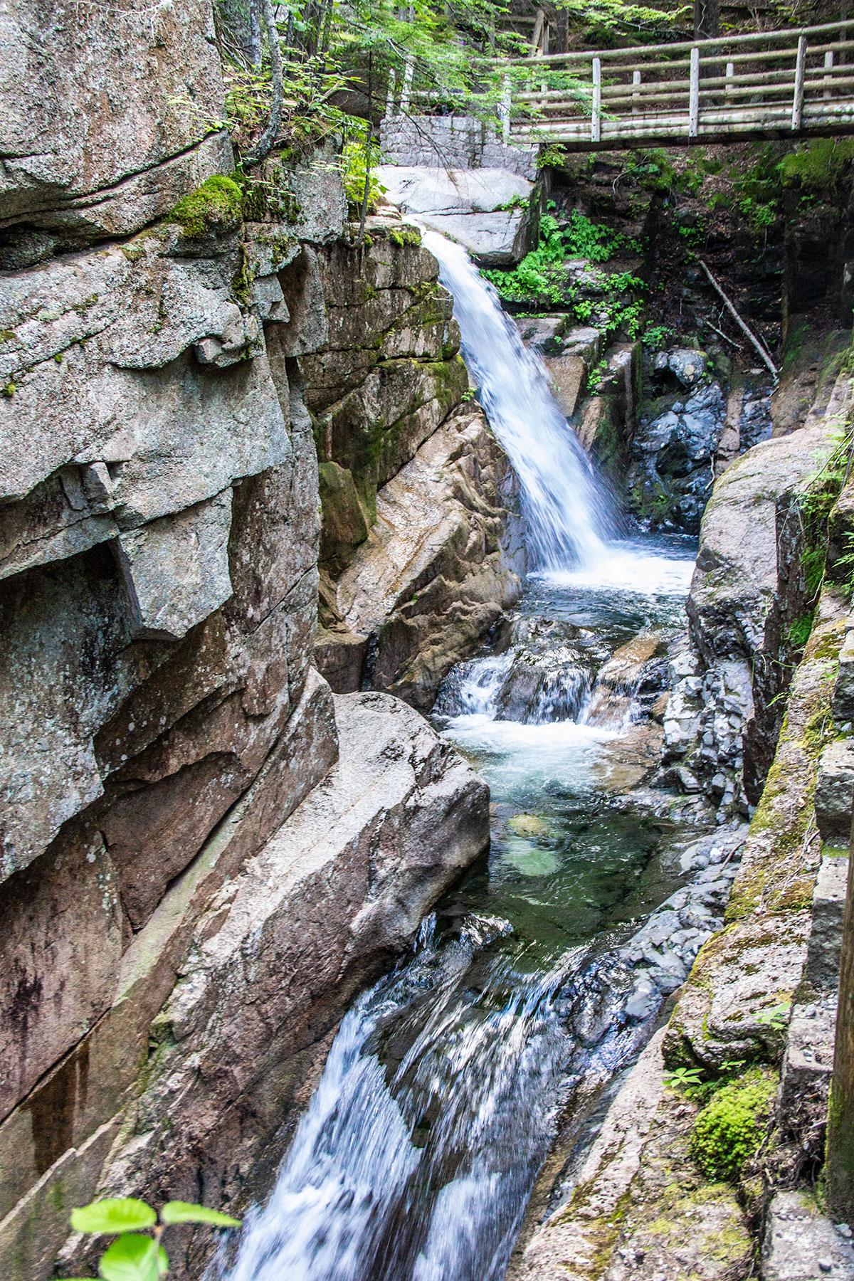 Sabbaday-Falls-White-Mountains-Kancamagus-highway