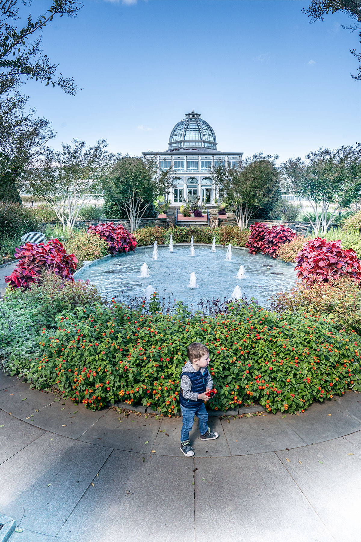 Lewis-Ginter-Botanical-Garden-in-Richmond-Virginia