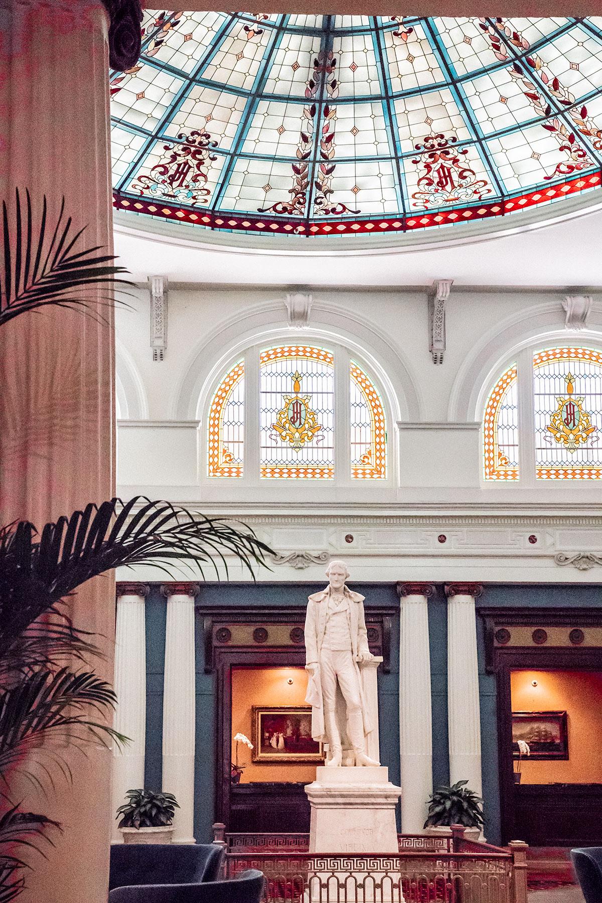 The-Jefferson-Statue-Lobby-The-Jefferson-Hotel-Richmond