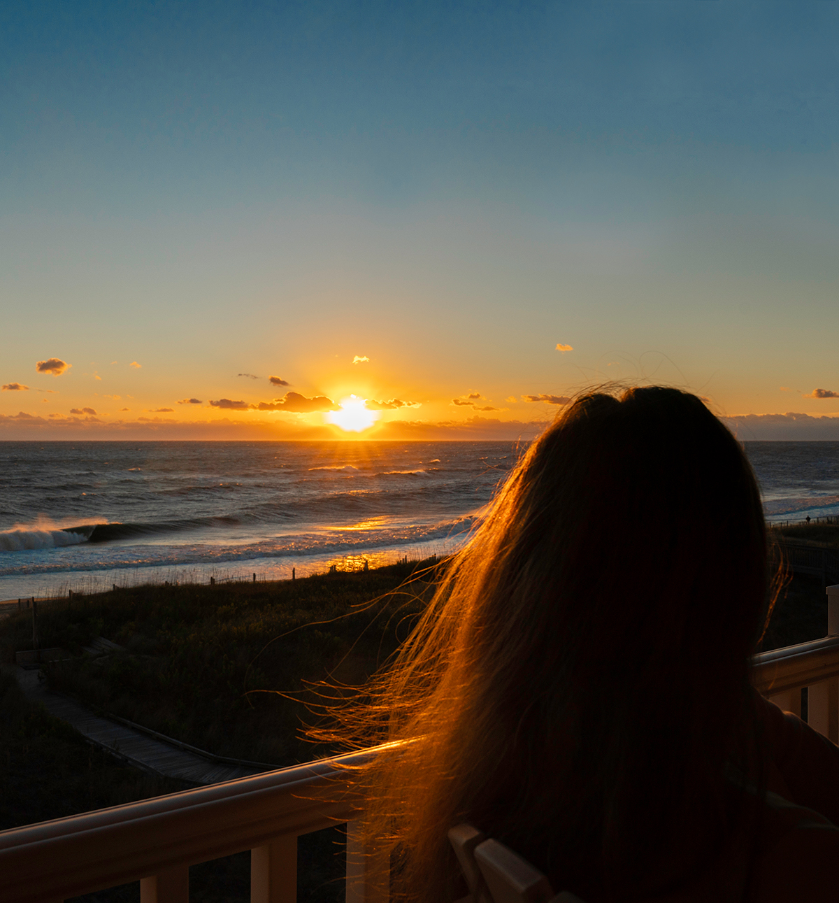 The-Sun-Rises-Over-The-Outer-Banks-North-Carolina