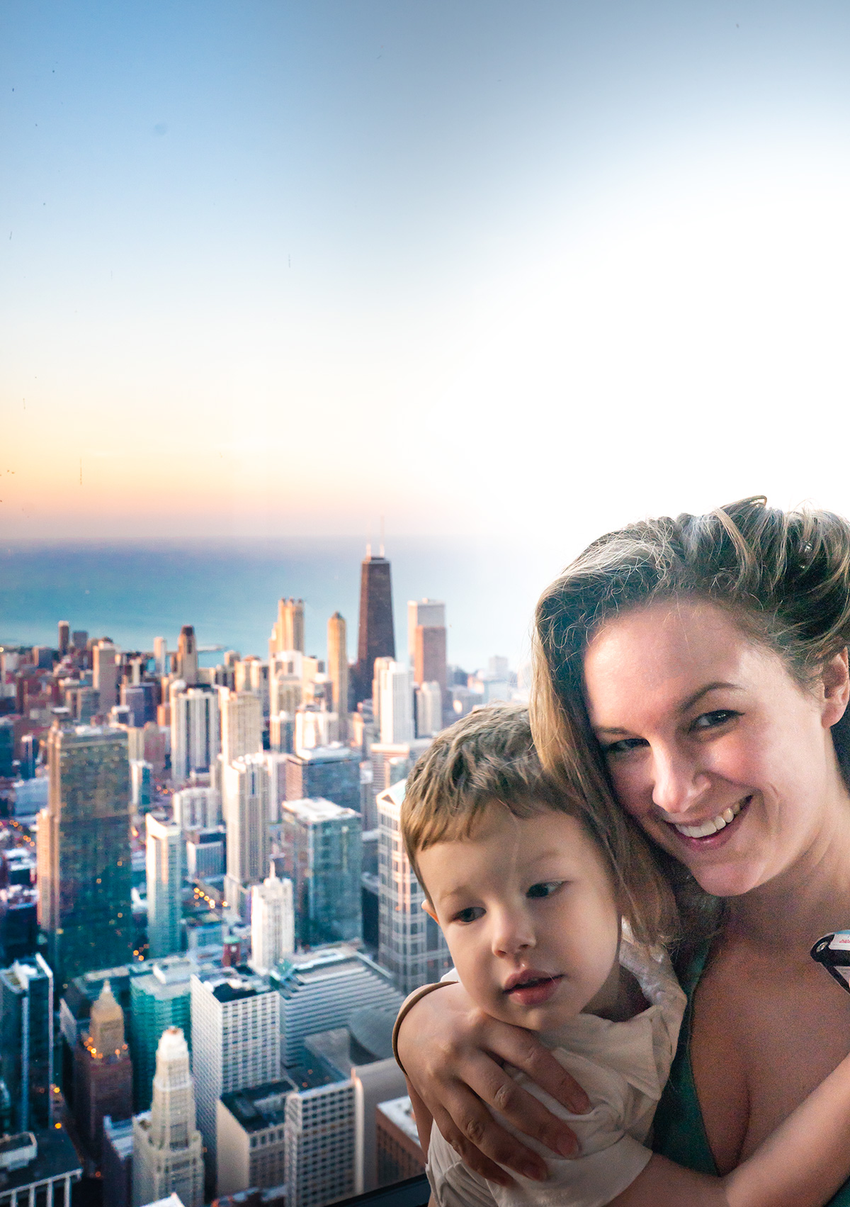 Willis-Tower-Skydeck-Chicago-at-Sunset