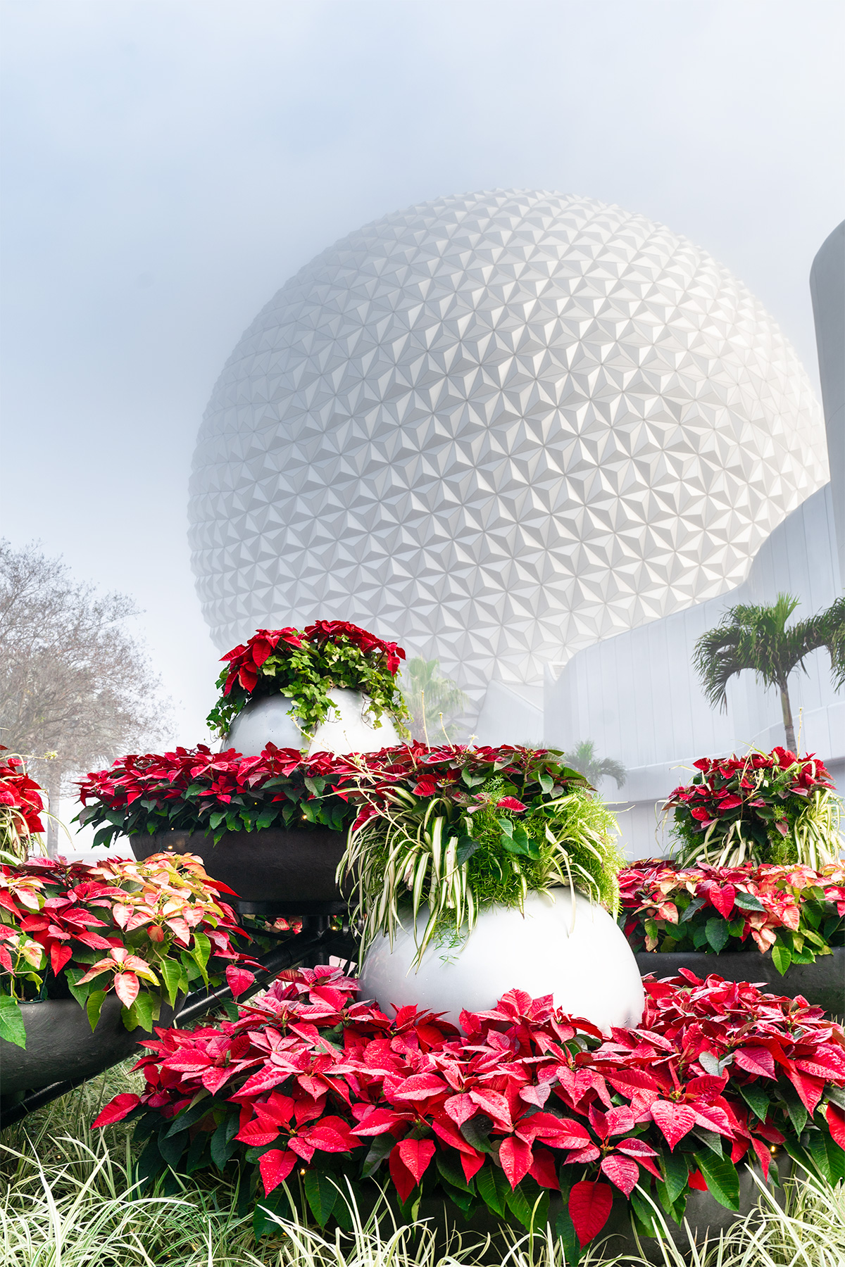 Epcot-at-Christmas-Holiday-Time