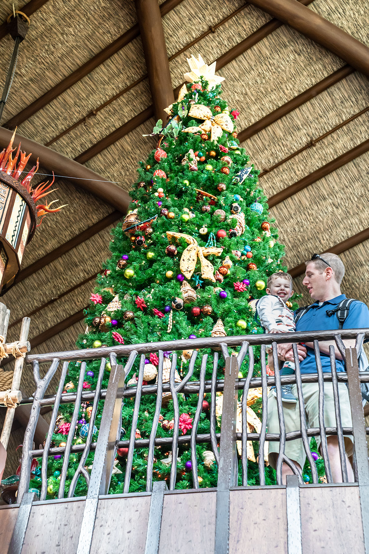 Holiday-Decor-at-Disneys-Animal-Kingdom-Lodge
