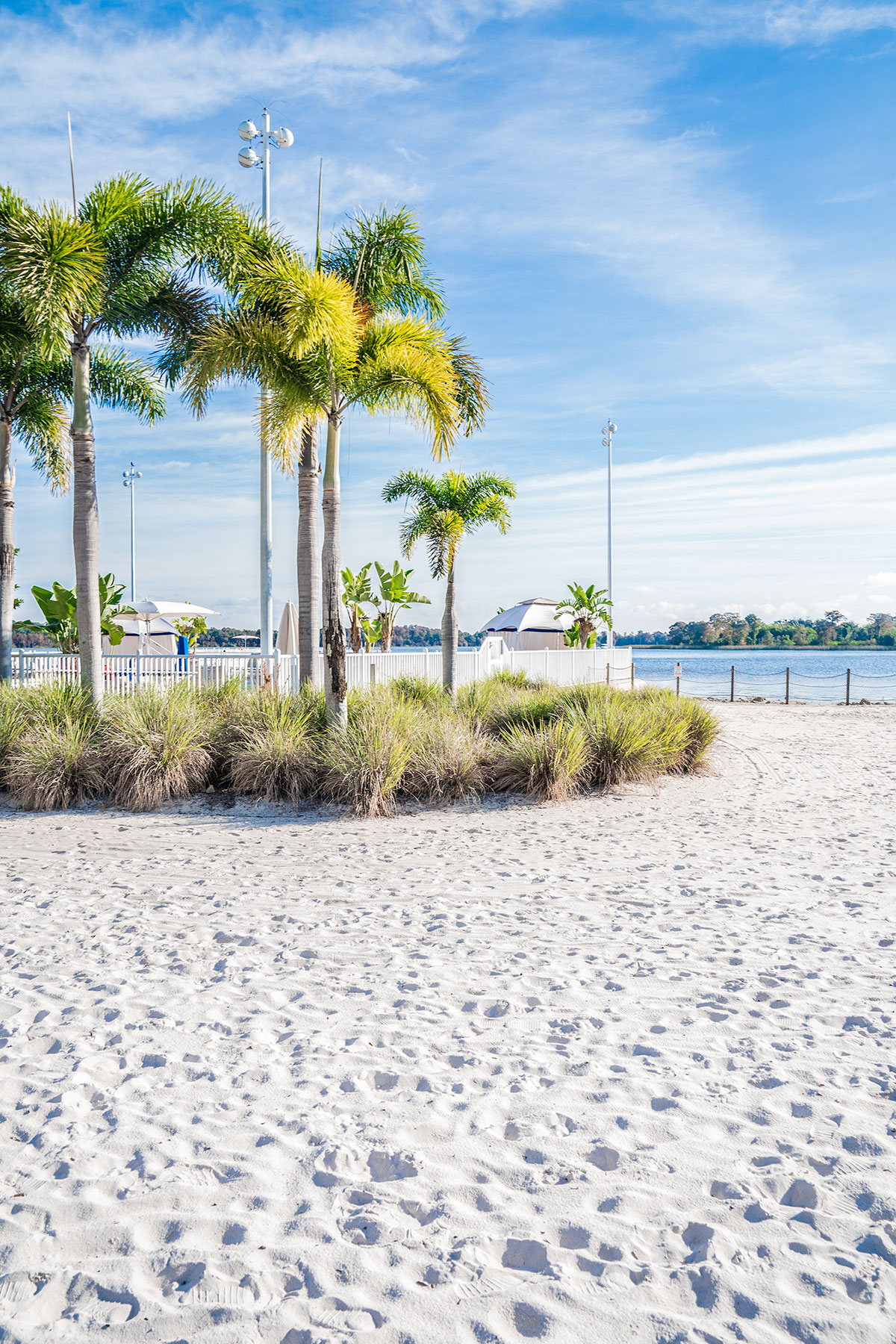 Walt-Disney-World-Contemporary-White-Sand-Beach