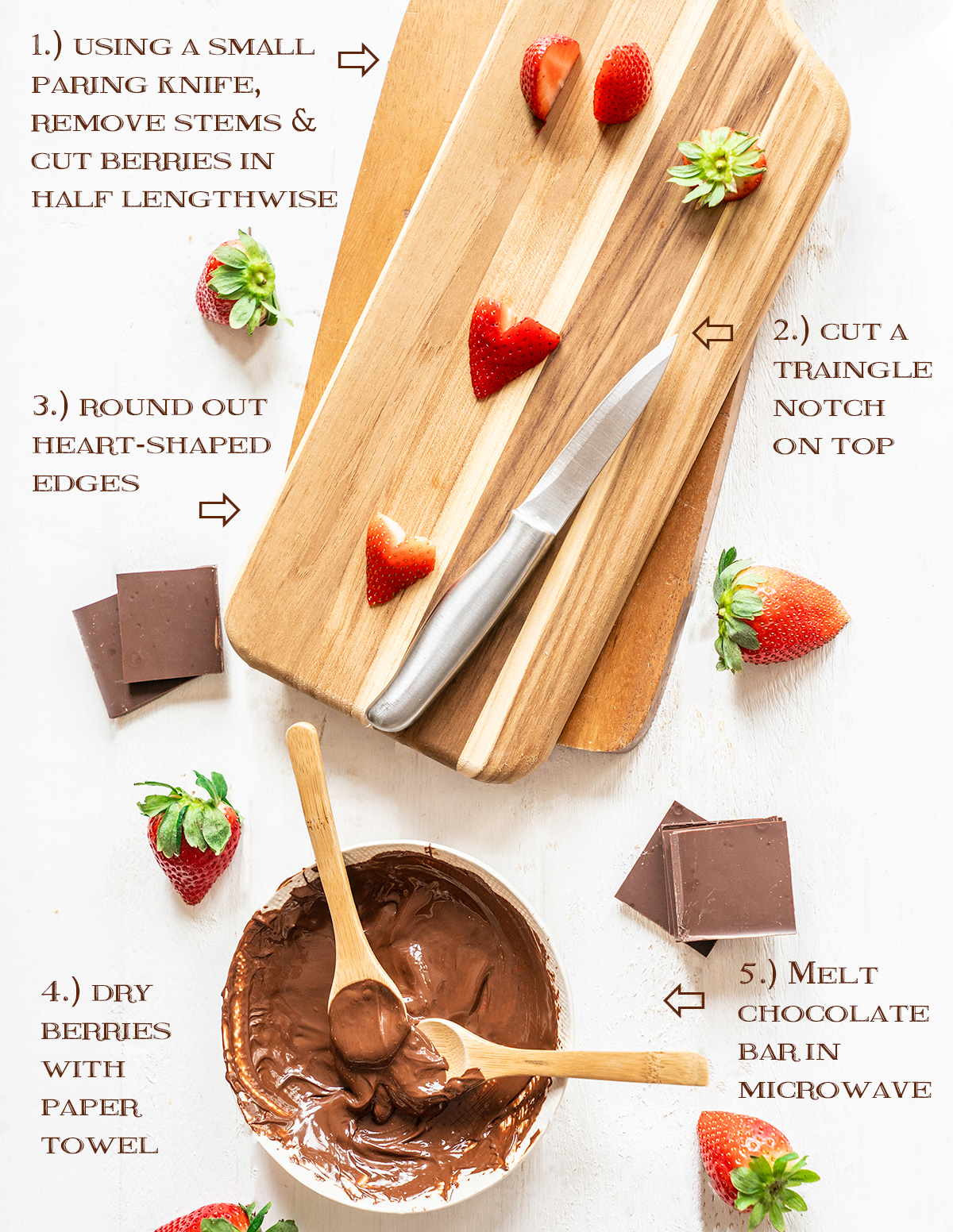 Creating-Chocolate-Covered-Strawberry-Hearts