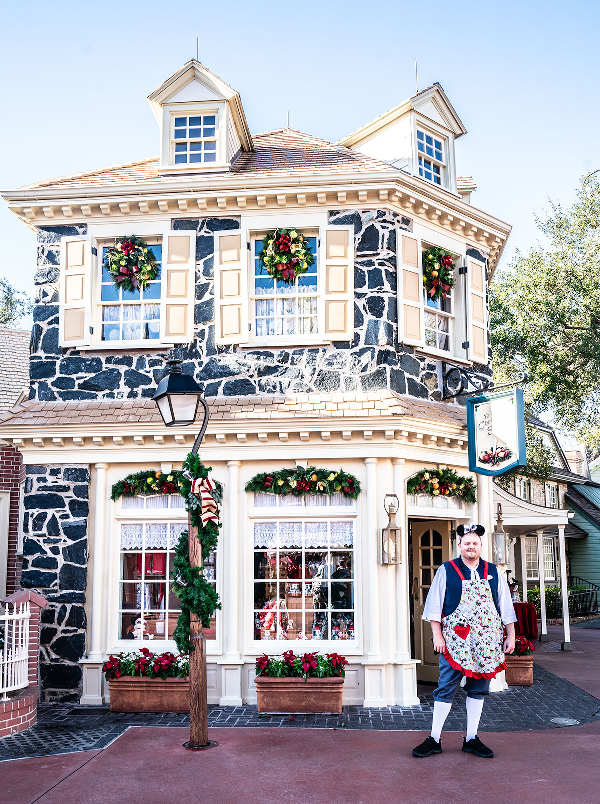 Stunning-Holiday-decor-of-Magic-Kingdom-Disney