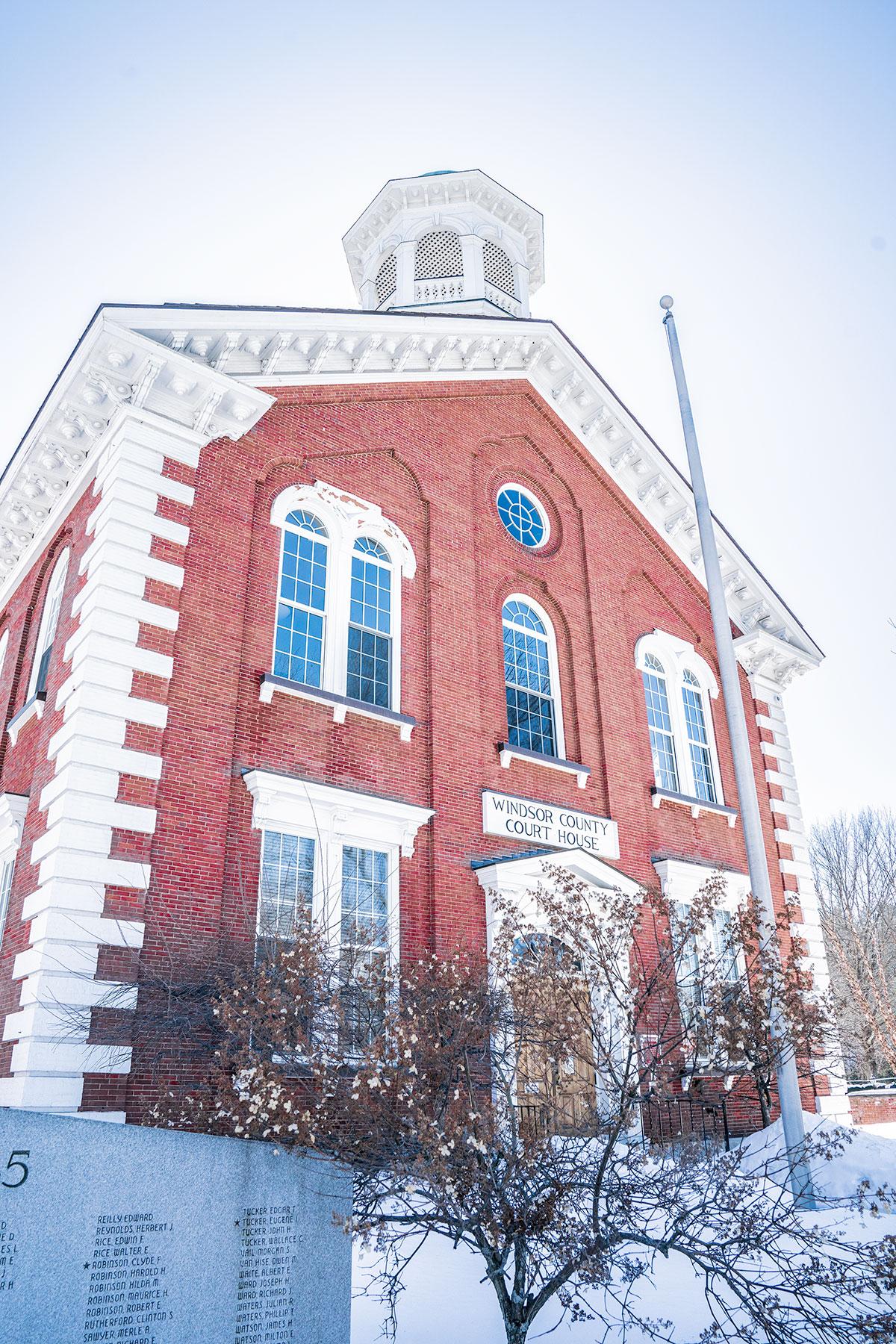 Brick-Architecture-of-Woodstock-Vermont