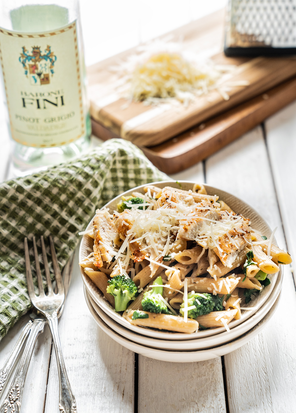 Chicken-Brocolli-Penne-Pasta