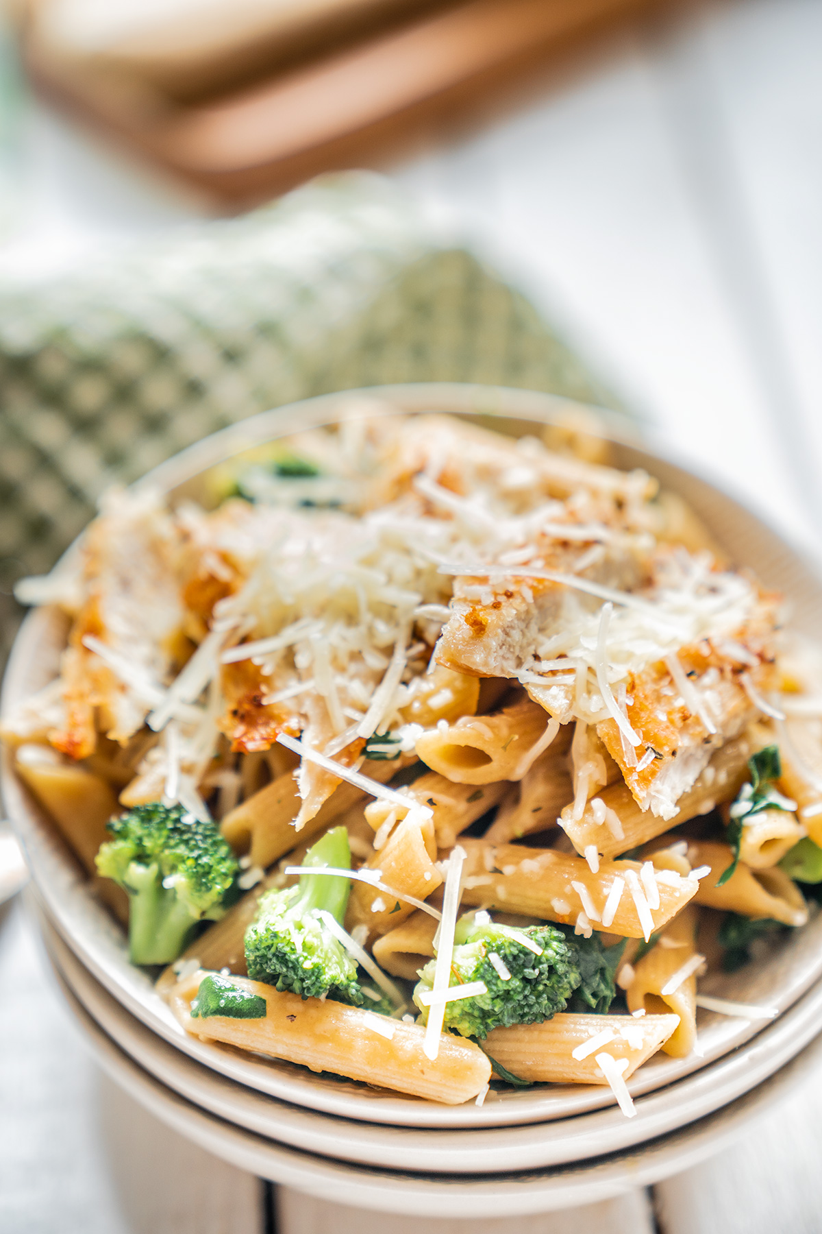 Healthy-Chicken-Broccoli-Pasta