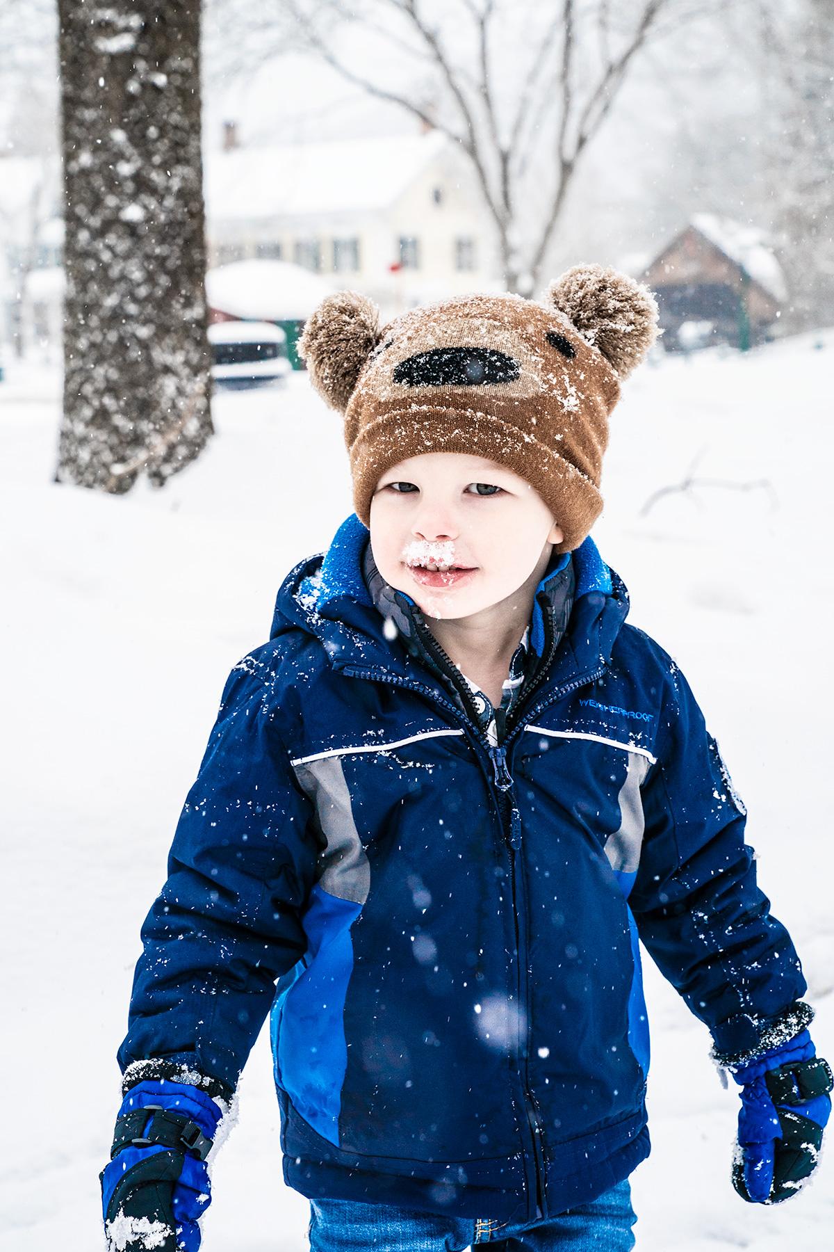 Snow-Day-Woodstock-Vermont