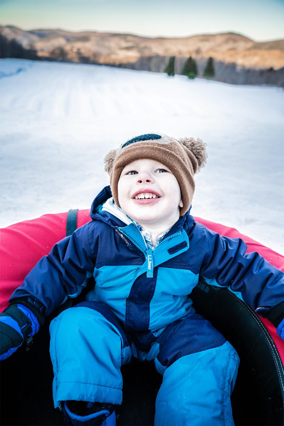 Trevor-Michael-Snow-Tubing-Killington-Vermont