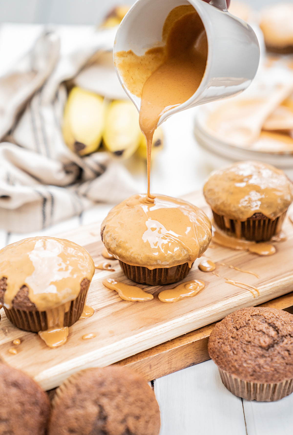 Peanut-Butter-Muffins-Chocolate-Banana
