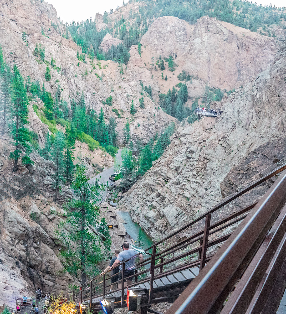 The-Steep-Stair-Climb-Colorado-Springs-Seven-Falls