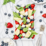 Strawberry-Avocado-Caprese-Salad