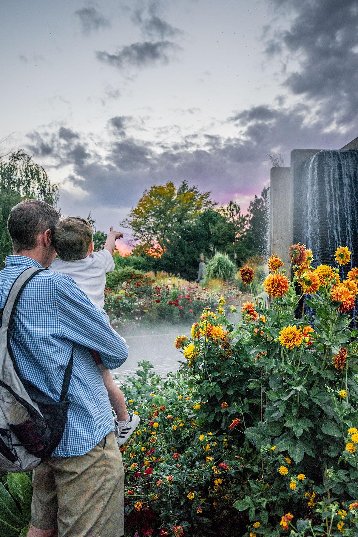 Denver-Botanical-Garden-in-Colorado