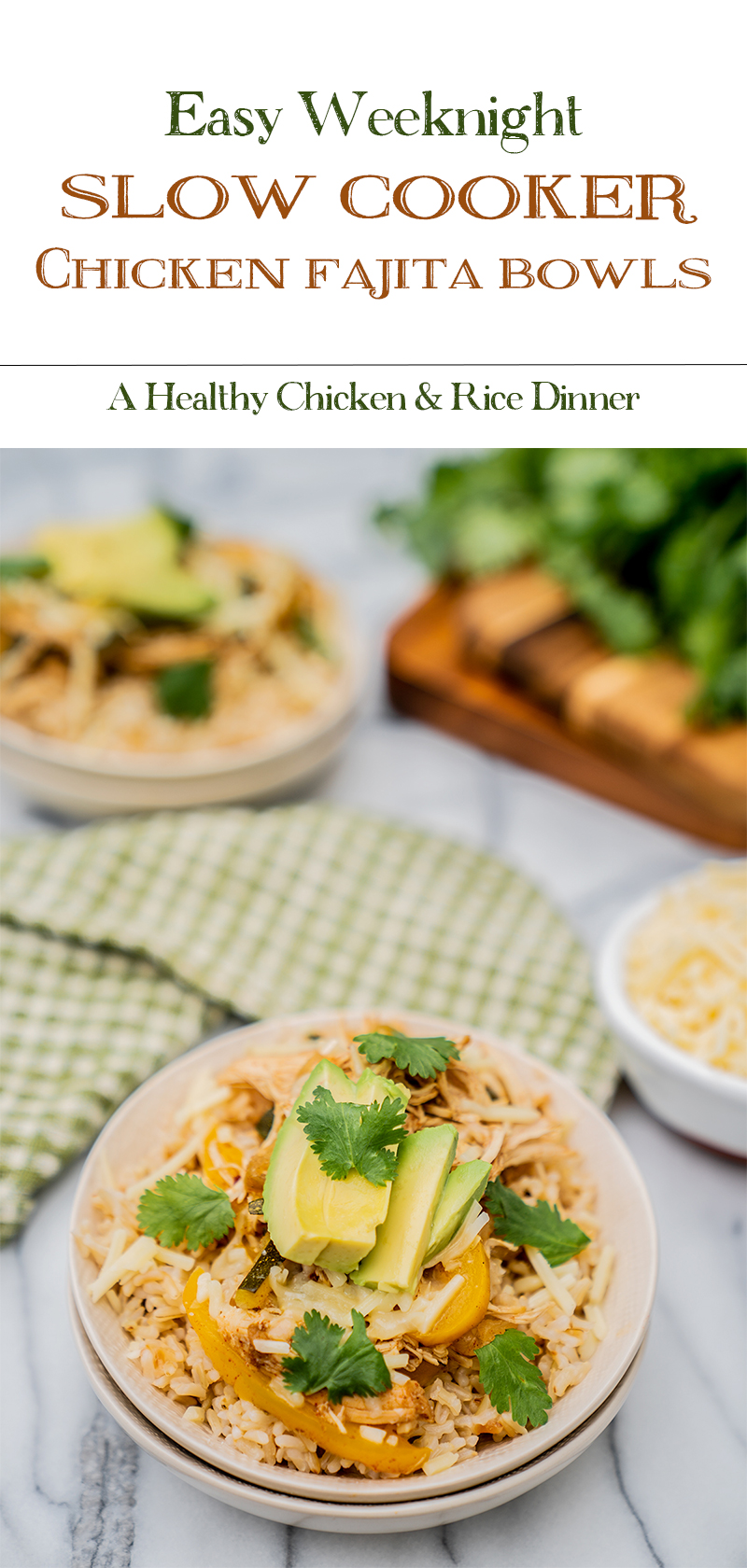 Easy-and-Healthy-Slow-Cooker-Chicken-Fajita-Rice-Bowls