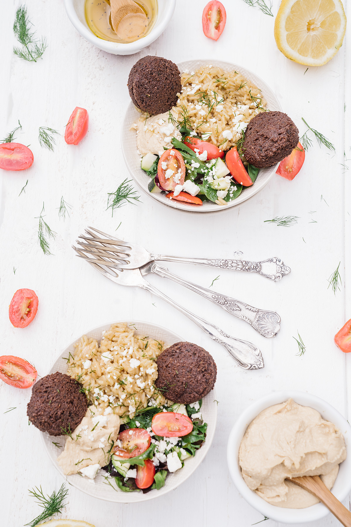 Greek-Feta-Falafel-Rice-Bowl