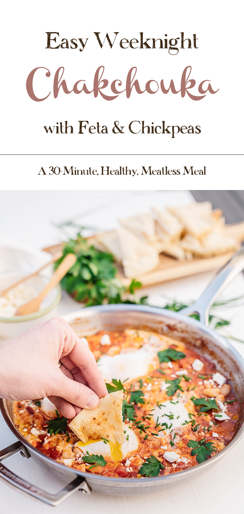 Easy-Healthy-Weeknight-Chakchouka-with-Chickpeas-and-Feta