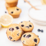 Blueberry-Lemon-Almond-Muffins