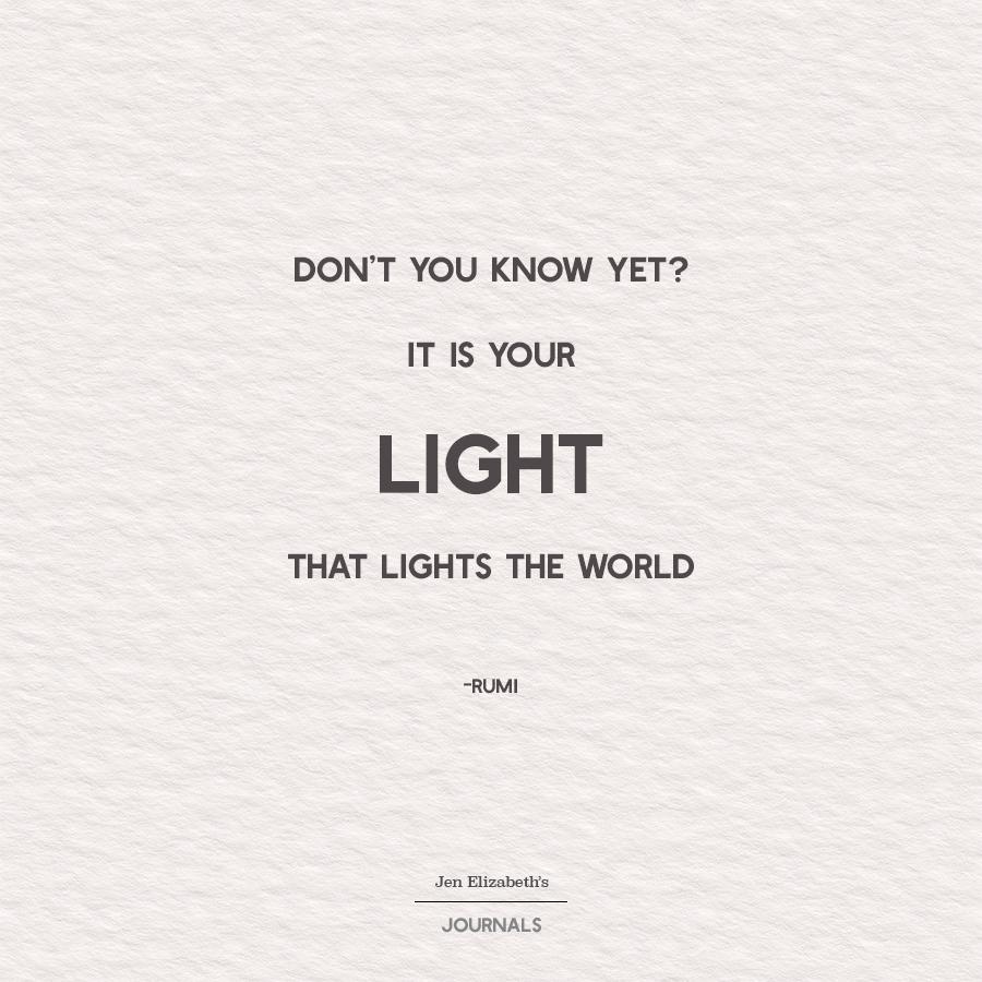 your-light-lights-the-world